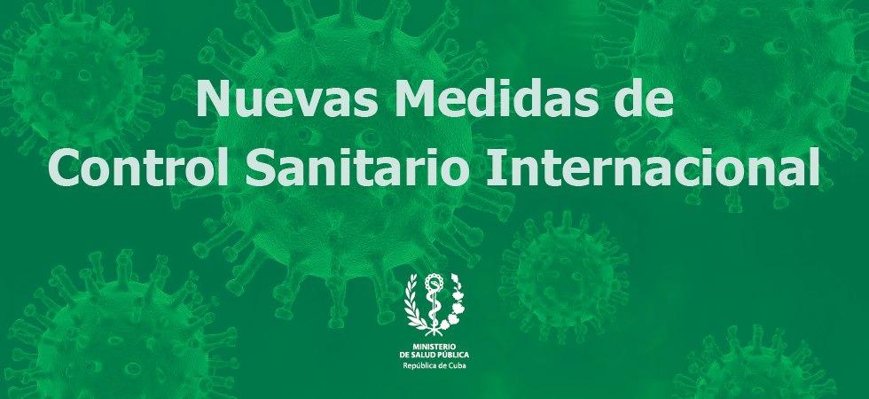 Neue MINSAP-Massnahmen für internationale Reisende in Kuba | Bildquelle: https://t1p.de/fz6d © MINSAP | Bilder sind in der Regel urheberrechtlich geschützt