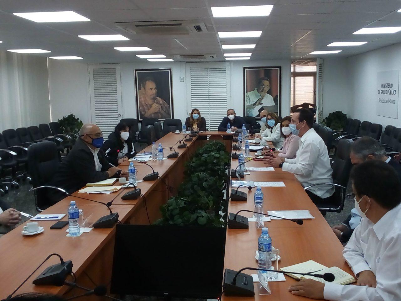 Intercambian ministros de Salud de Cuba y Venezuela experiencias en el enfrentamiento a la Covid-19