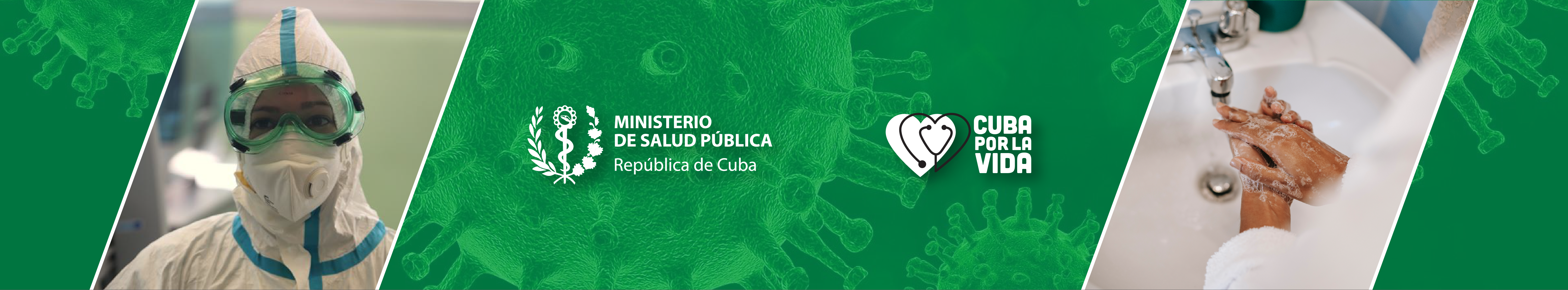 Official government site of the Ministry of Public Health in Cuba